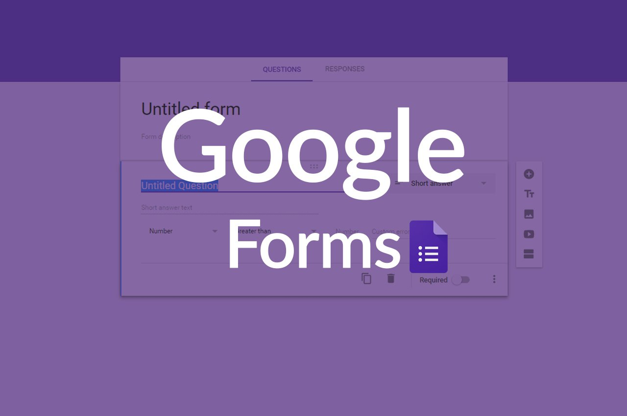 Why your production should use google forms