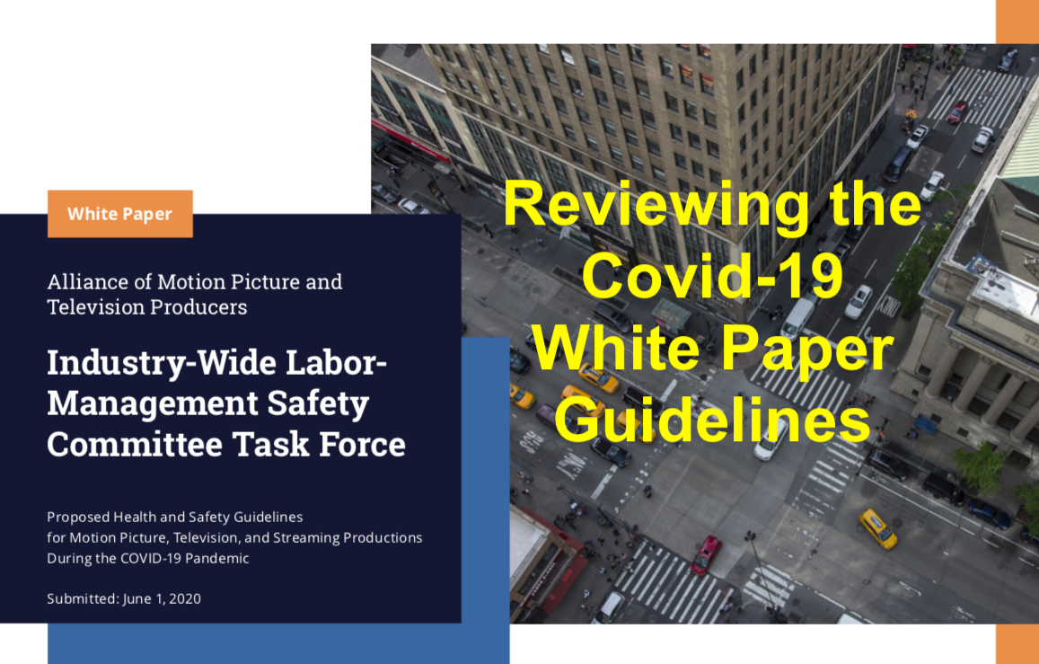 Reviewing the Covid-19 White Paper Guidelines with Lisa Mall and Brandon Riley